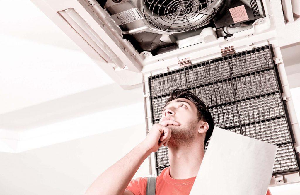 Manutenção preventiva de ar-condicionado